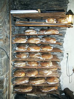 Brot frisch aus dem Ofen