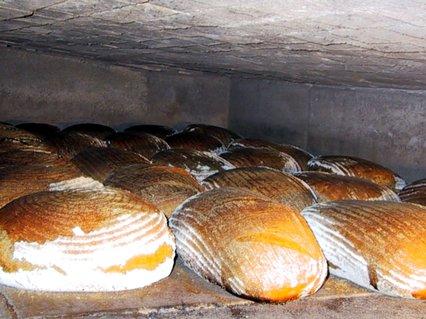 Bald ist das Brot fertig.