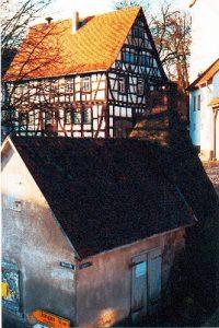 Backhaus vor der Sanierung